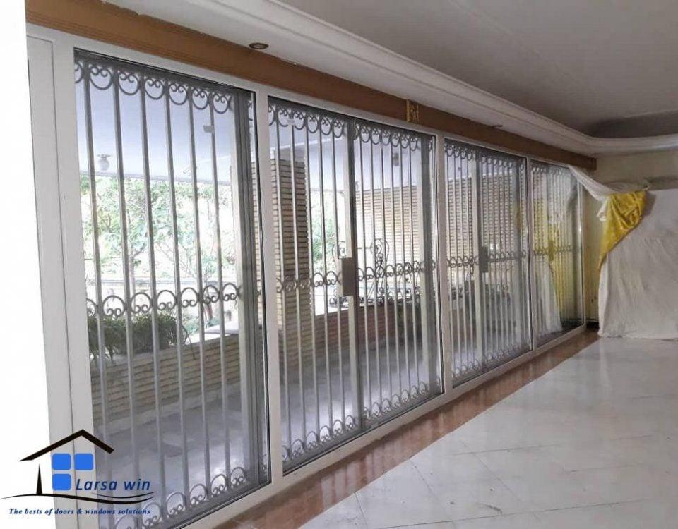 بازسازی و تعویض پنجره دوجداره میرداماد